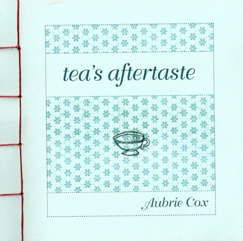 "Cover of the haiku chapbook ""tea's aftertaste"""