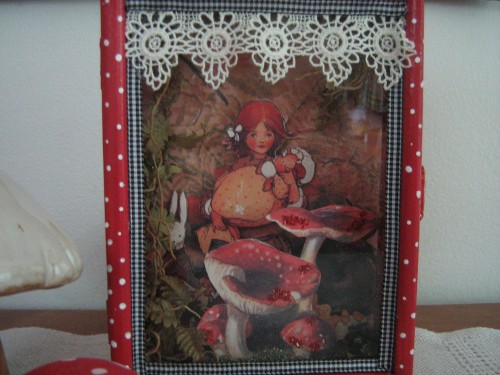 Diorama of Alice in Wonderland