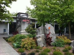Seattle Center courtyard