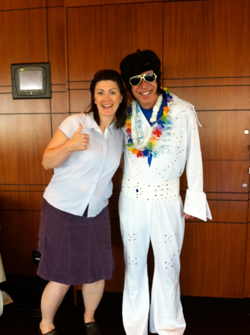 Elvis with Katharine Hawkinson